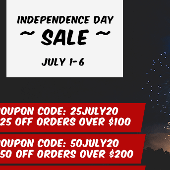4th of July Sale: July 1-6