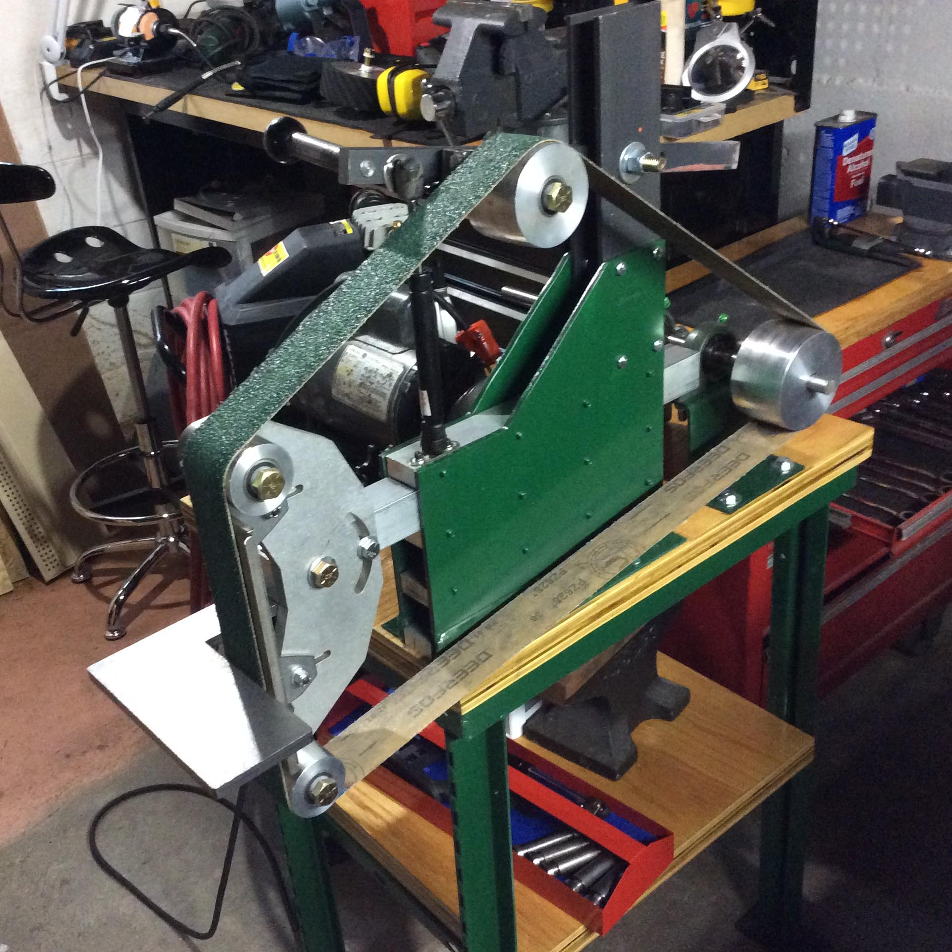 Customer Spotlight: belt sander