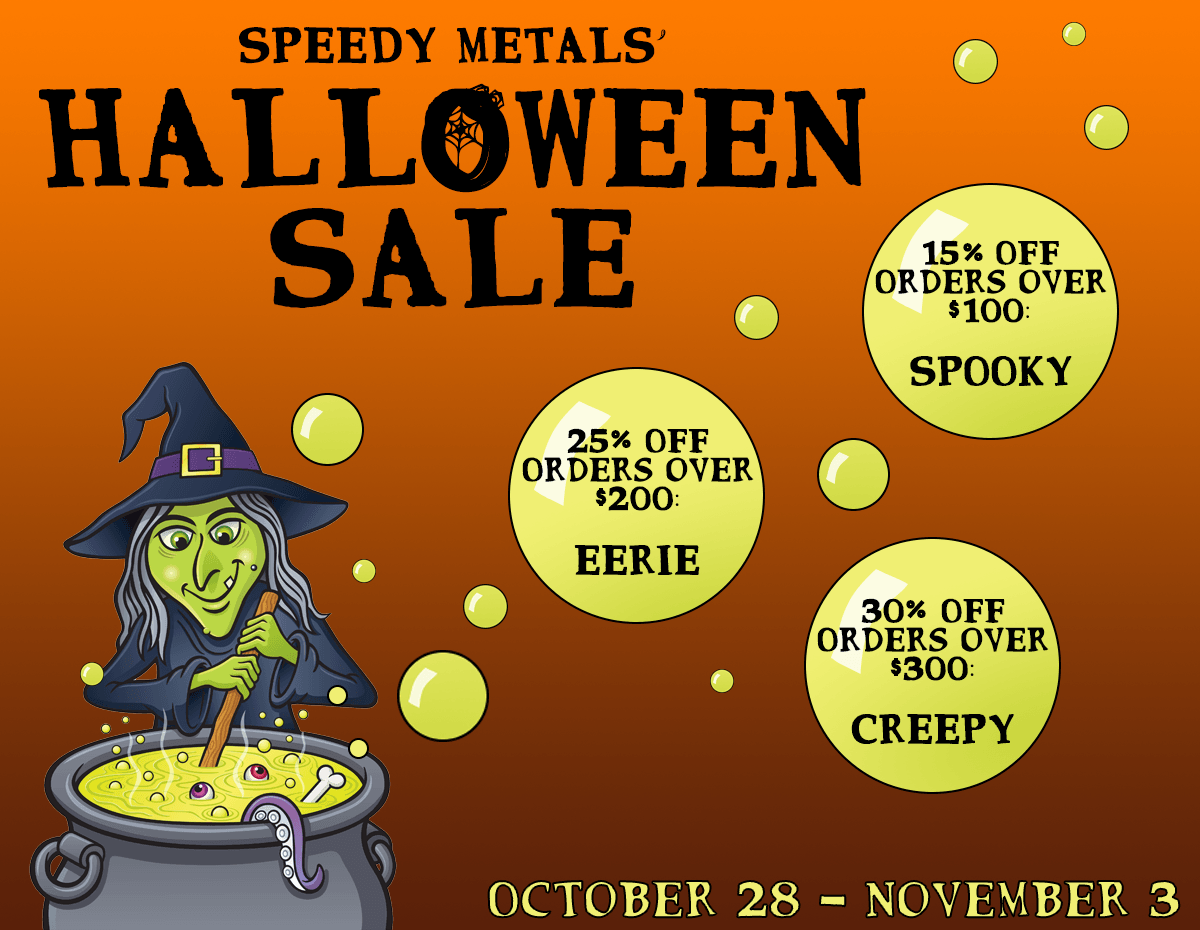 Halloween Sale 2018: October 28-November 3