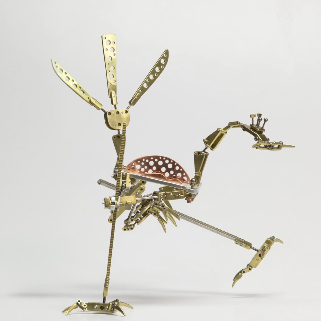 Animated robot roadrunner
